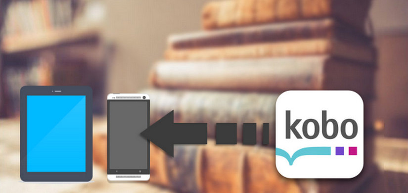 kobo book on android device