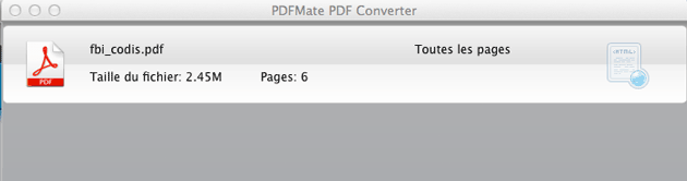 Comment Utiliser Pdfmate Pdf Converter Version Mac Convertir Pdf