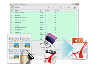 Free pdf merger download and screenshot.