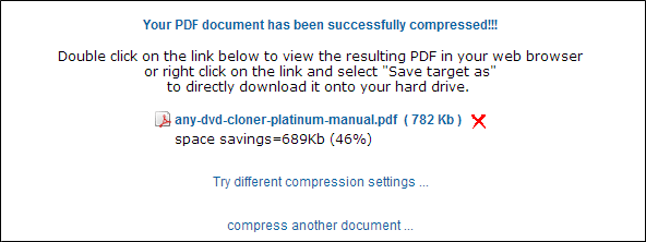 compress pdf file with neevia