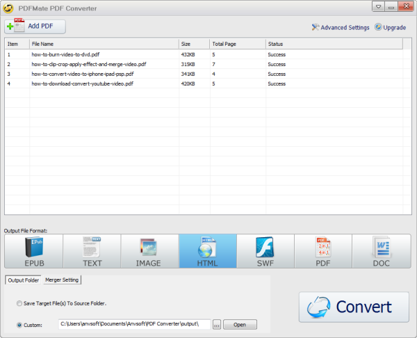 Free PDF to HTML Converter - PDF to HTML Freeware Review