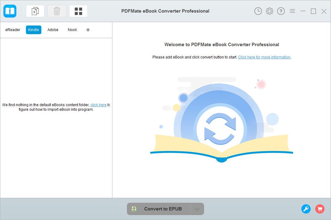 PDFMate eBook Converter full screenshot