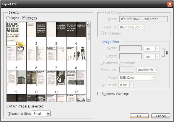How to Extract image from PDF File