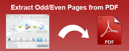 Extract Odd/Even Pages from PDF