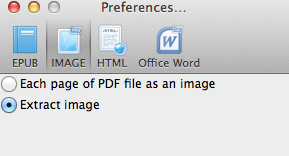PDF to IMAGE Setting