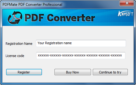 any video converter professional registration name and license code free download