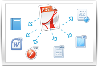 PDF in anderes Format umwandeln